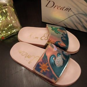 "Sam edelman girls ""Mackie beachy"" slide"